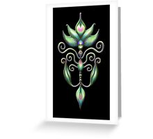 Alien Sprout Greeting Card