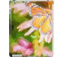 Monarch Butterfly on Cone Flower iPad Case/Skin