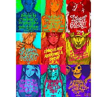 One Piece - Straw hats with quotes Photographic Print
