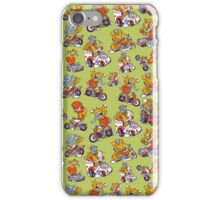Monsters Driving iPhone Case/Skin