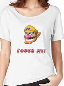 """Touch me"" - WARIO Women's Relaxed Fit T-Shirt"