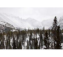Snowy Range Photographic Print
