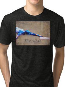 The Baseball Slide of Russel Martin Tri-blend T-Shirt