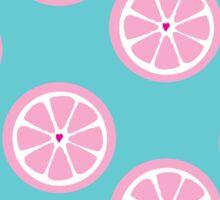 Grapefruit Love Sticker
