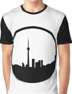 The 6ix Circle Logo Graphic T-Shirt