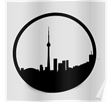 The 6ix Circle Logo Poster