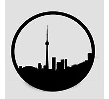 The 6ix Circle Logo Photographic Print