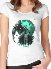 Final Fantasy VII Women's Fitted Scoop T-Shirt