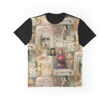 leonardo da vinci Graphic T-Shirt