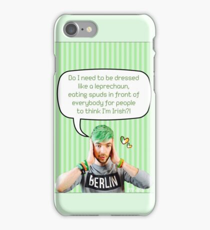 Is Jacksepticeye Irish? iPhone Case/Skin