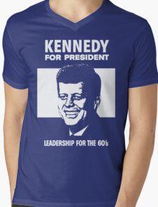 KENNEDY FOR PRESIDENT Mens V-Neck T-Shirt