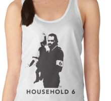 Household 6, the manliness of Mr. Mom Women's Tank Top