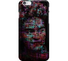 Frida Kahlo - Word Cloud iPhone Case/Skin