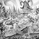 A mad tea-party by Wil Zender