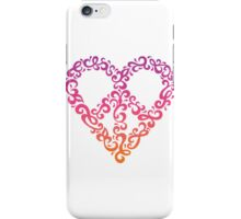 Floral Peace Heart iPhone Case/Skin