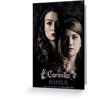 Carmilla S2 Greeting Card
