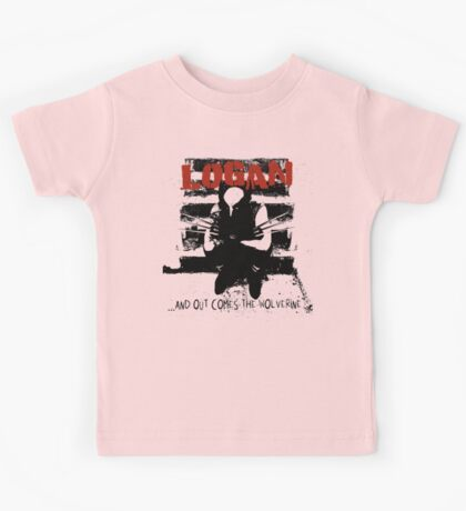 ...And Out Comes The Wolverine Kids Tee