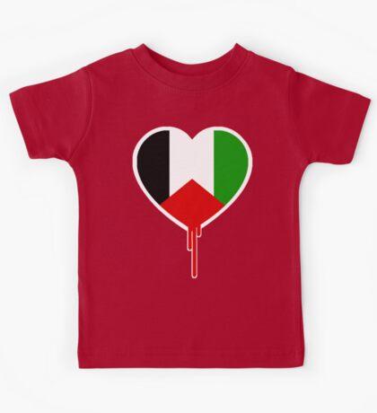 PALESTINIAN BLEEDING HEART Kids Tee