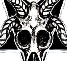 Baphomet Pentagram Sticker