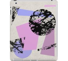Circles And Shards iPad Case/Skin