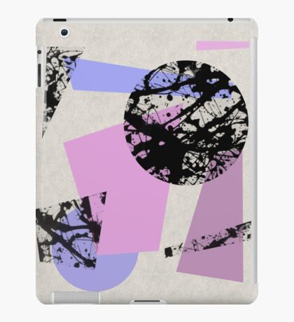 Circles And Shards iPad Case/Skin