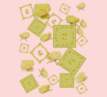 Yellow Rose Boquet Baby Tee
