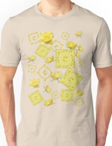 Yellow Rose Boquet Unisex T-Shirt