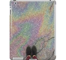 oily rainbow iPad Case/Skin