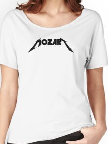 Mozart Metallica Type Parody Women's Relaxed Fit T-Shirt