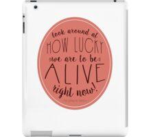 Look Around - Hamilton iPad Case/Skin