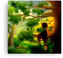 Sitting in a Tree Canvas Print