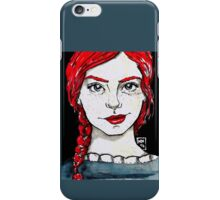 Red hair and ready to rule the world iPhone Case/Skin
