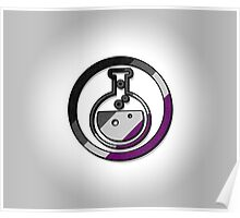 Asexual Potion Icon Poster