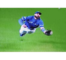 Kevin Pillar's Mighty Dive Photographic Print