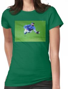 Kevin Pillar's Mighty Dive Womens Fitted T-Shirt