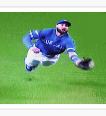 Kevin Pillar's Mighty Dive Sticker