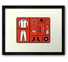 Clockwork Kit Framed Print