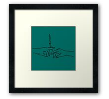 420 : Smoke A Joint Framed Print