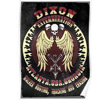 Dixon Extermination Vintage Poster