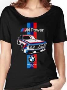 BMW CSL Series Women's Relaxed Fit T-Shirt