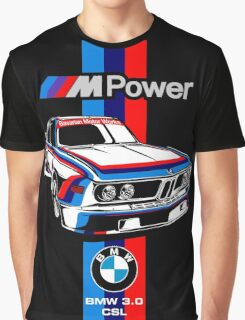BMW CSL Series Graphic T-Shirt