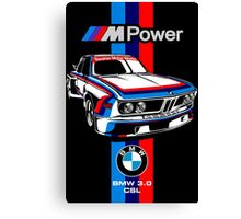 BMW CSL Series Canvas Print