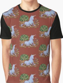 Medieval Unicorn Graphic T-Shirt