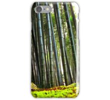 bamboo forest poster/phone case iPhone Case/Skin