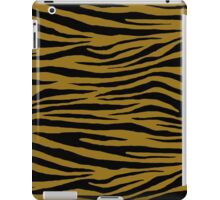 0232 Bistre Brown, Drab, Mode Beige, Sand Dune or Sandy Taupe Tiger iPad Case/Skin