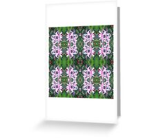Pink Spider Lily Greeting Card