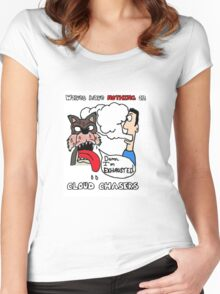 Wolves have nothing on... Women's Fitted Scoop T-Shirt