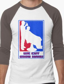 WE CUT GOOD HAIR! Men's Baseball ¾ T-Shirt