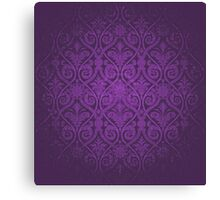 Purple Vintage Victorian Canvas Print