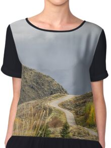The Road Not Taken Chiffon Top